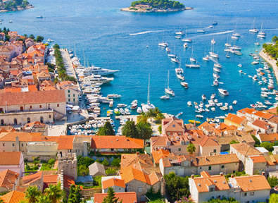 Iles de Croatie Vol + Hôtel