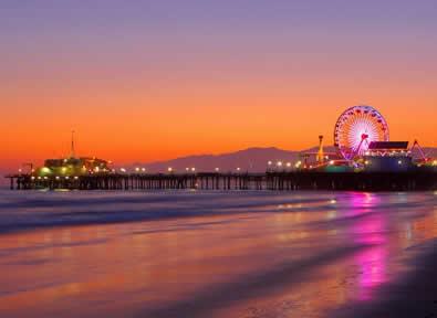 Santa Monica, CA Vol + Hôtel