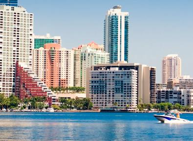 Miami, FL Vol + Hôtel