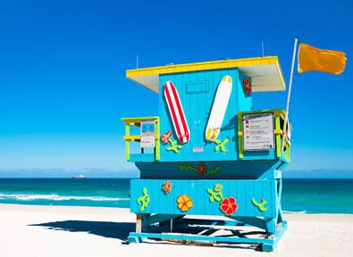 Miami, FL Vol + Hôtel + Transfert