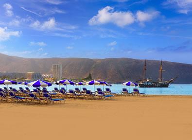 Playa de Los Cristianos Vol + Hôtel + Voiture