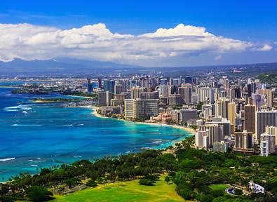 Île d'Oahu, HI Vol + Hôtel