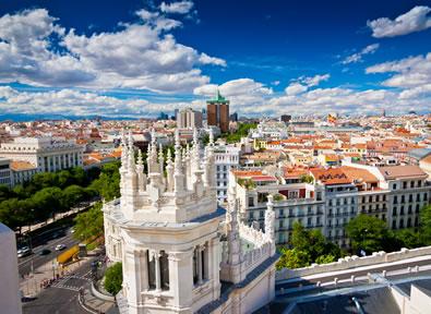Madrid Vol + Hôtel + Voiture
