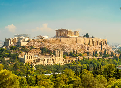Athènes Vol + Hôtel + Transfert