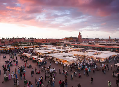 Marrakech Vol + Hôtel + Transfert