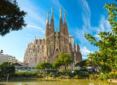 Barcelone Vol + Hôtel + Voiture