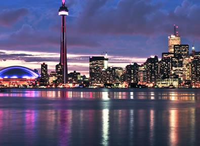 Toronto Vol + Hôtel