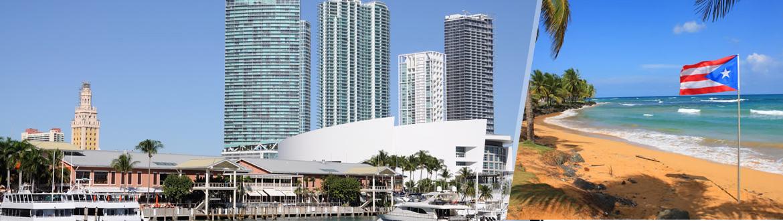 États-Unis et Porto Rico: Miami et San Juan, séjour à la plage à votre guise