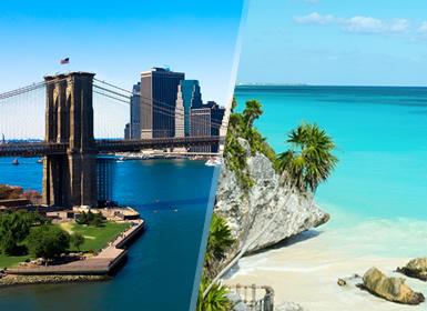 États-Unis et Mexique: New York et Riviera Maya