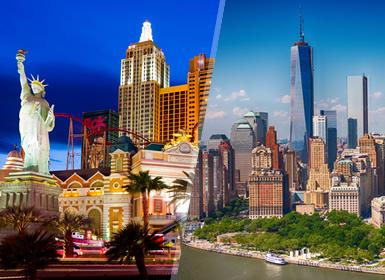 États-Unis: New York et Las Vegas