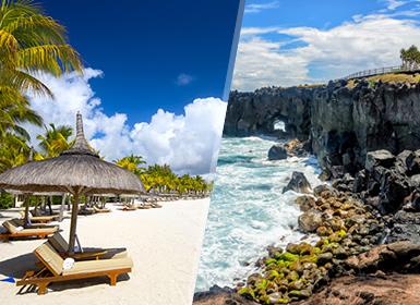 Îles de l´Océan Indien: l´Île de la Réunion et l´Île Maurice