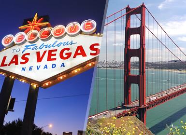 États-Unis: Las Vegas et San Francisco