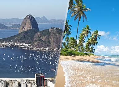 Brésil: Rio de Janeiro et Salvador de Bahia