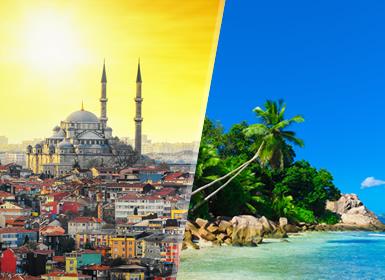 Turquie et les Îles de l´Océan Indien: Istanbul et Seychelles