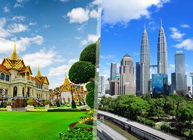 Thaïlande et Malaisie: Bangkok et Kuala Lumpur