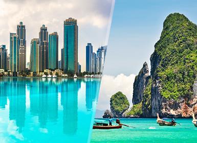 Émirats et Thaïlande: Dubaï et Phuket