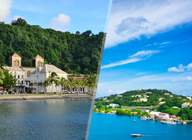 Petites Antilles: Martinique et St. Lucia