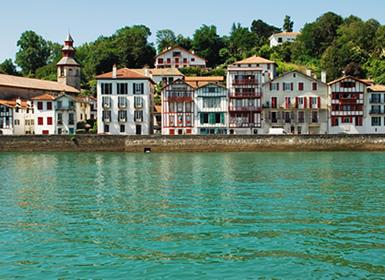 Espagne: Route de la Côte Basque avec Biarritz et Saint Jean de Luz