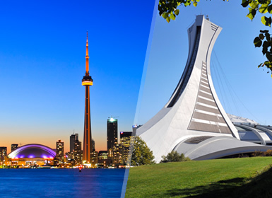 Canada: Toronto et Montréal