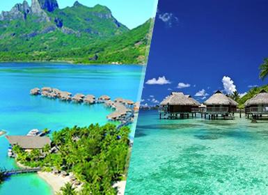 Polynésie Française: Tahiti et Bora Bora