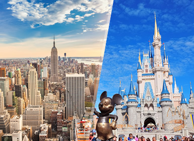 New York et Walt Disney World Resort Essentiel À Votre Aise