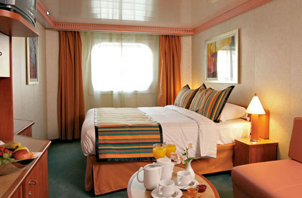 Cat gories et cabines du bateau costa diadema costa for Chambre quadruple costa magica