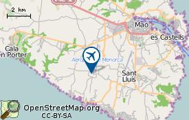 Aéroport de  Minorque