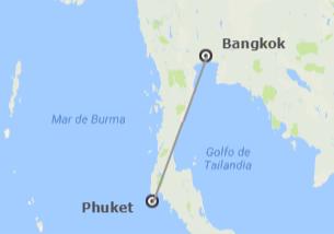 Thaïlande: Bangkok et Phuket