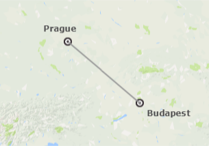 Europe Centrale: Prague et Budapest en avion
