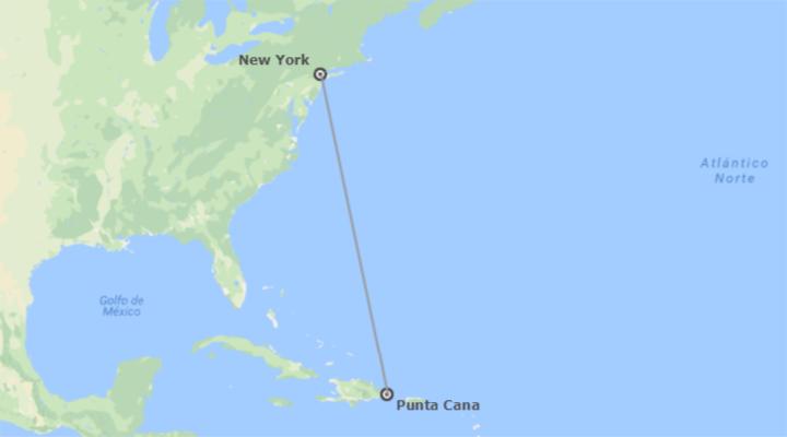 États-Unis et République Dominicaine: New York et Punta Cana