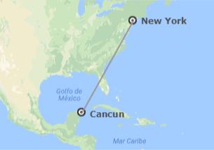 États-Unis et Mexique: New York et Cancun