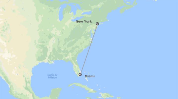 États-Unis: New York et Miami