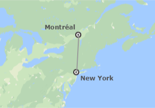 États-Unis et Canada: New York et Montréal