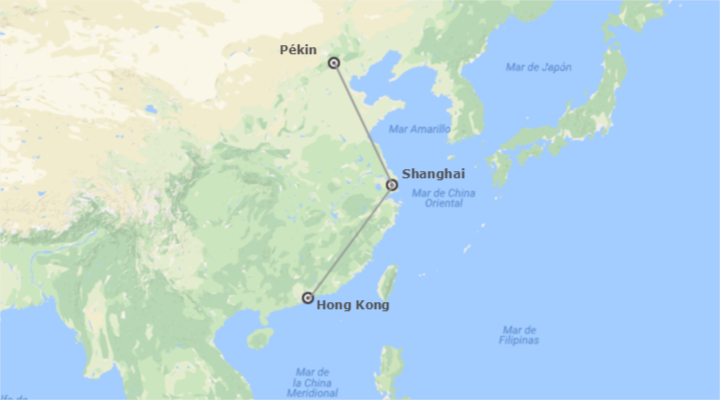 Chine: Beijing, Shanghai et Hong Kong