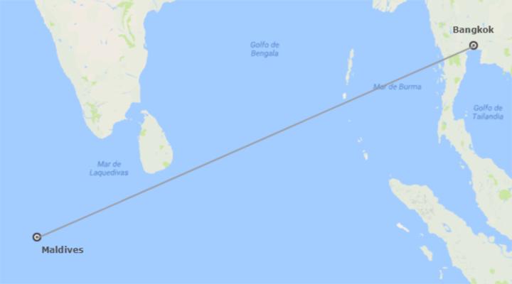 Thaïlande et les Îles de l´Océan Indien: Bankok et Maldives