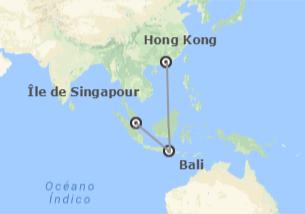 Chine, Indonésie et Singapour: Hong Kong, Bali et Singapour
