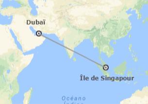 Émirats et Singapour: Dubaï et Singapour