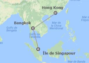 Singapour, Thaïlande et Chine: Singapour, Bangkok et Hong Kong