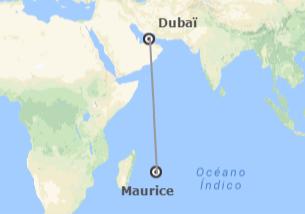 Émirats et îles de l'océan Indien: Dubaï et l'île Maurice