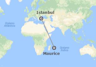 Turquie et les Îles de l´Océan Indien: Istanbul et l´Île Maurice