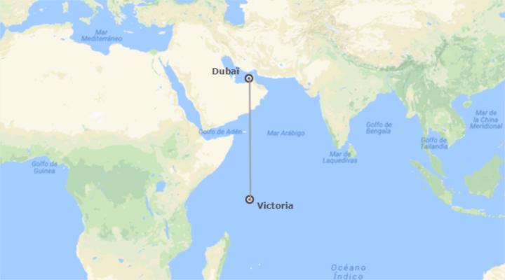 Emirats et les Îles de l´Océan Indien: Dubaï et Seychelles