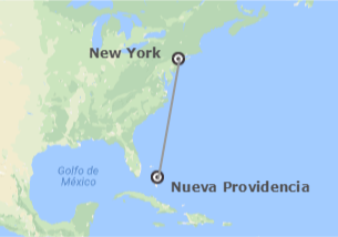 États-Unis et Bahamas: New York et New Providence