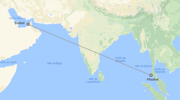 Emirates  et la Thaïlande: Dubaï et Phuket