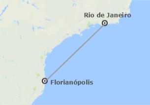 Brésil: Rio de Janeiro et Florianópolis