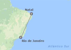 Brésil: Rio de Janeiro et Natal