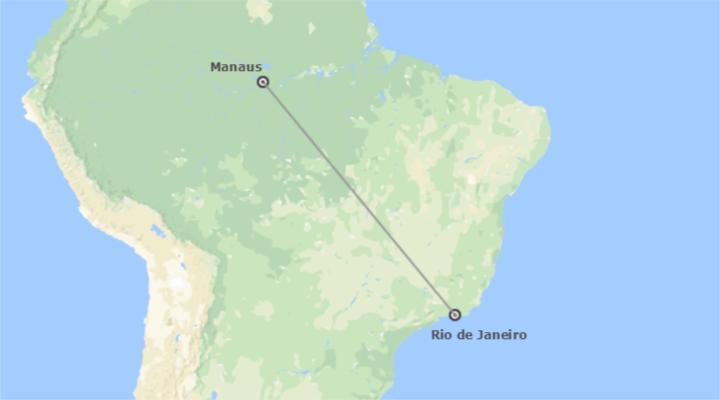 Brésil: Río de Janeiro et Manaos