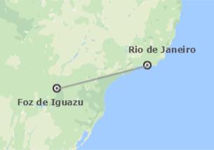 Brésil: Río de Janeiro et Iguaçu