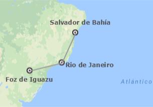 Brésil: Salvador, Rio et Iguaçu