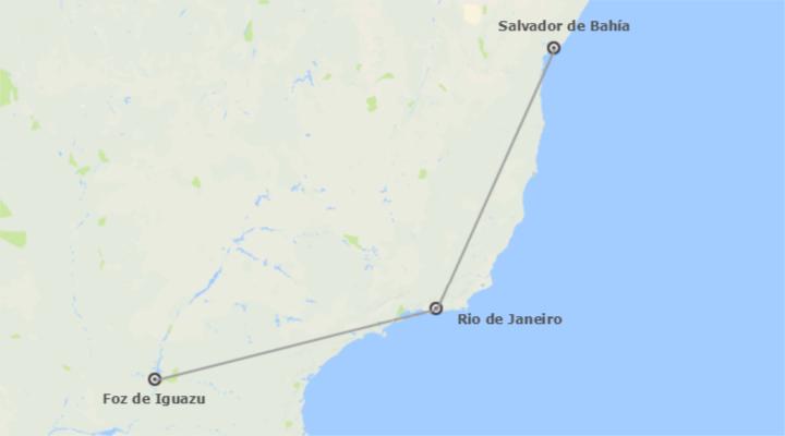 Brésil: Salvador, Rio et Iguazú