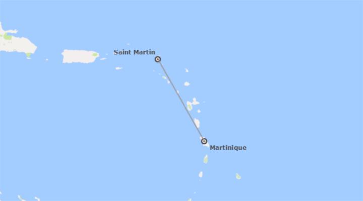 Antilles Françaises: Martinique et Saint Maarten
